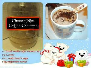 CHOCO-MINT COFFE CREAMER